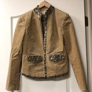 Michael Kors faux suede jacket